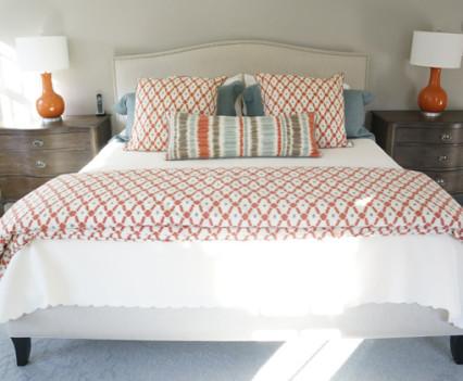 custom design master bed