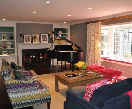 Darien Living Room 1